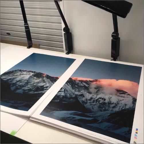 写真家・石川直樹氏の超大型写真集「EVEREST / K2」にNDPが採用されました